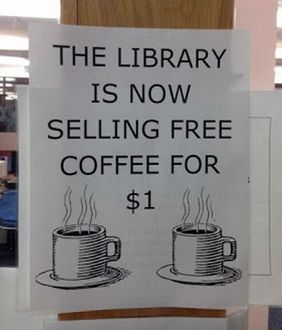 Free Coffee For Sale!
