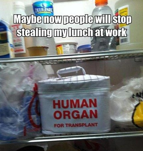 How to stop people from stealing your lunch
