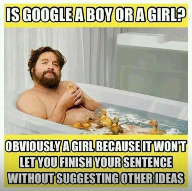 Is Google a boy or a girl