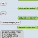 Jealous girlfriend
