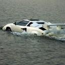 Lamborghini In the Water