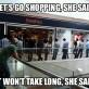 Let's go shopping…