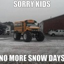 No more snow days