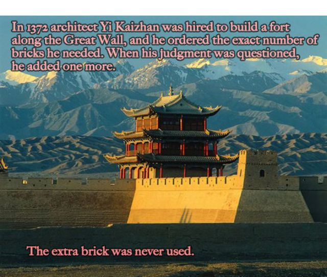Random Facts, China