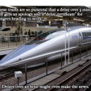 Random Facts, Japanese Trains