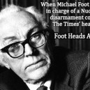 Random Facts, Michael Foot