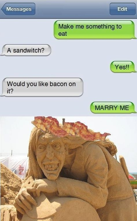 Text Message, Sandwitch