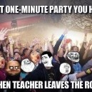 The One Minute Party