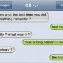 The romantic walk