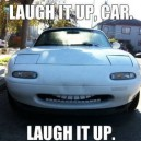 This Car Is Laughing All Day Long