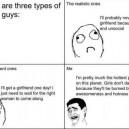 Three Types of Single Guys