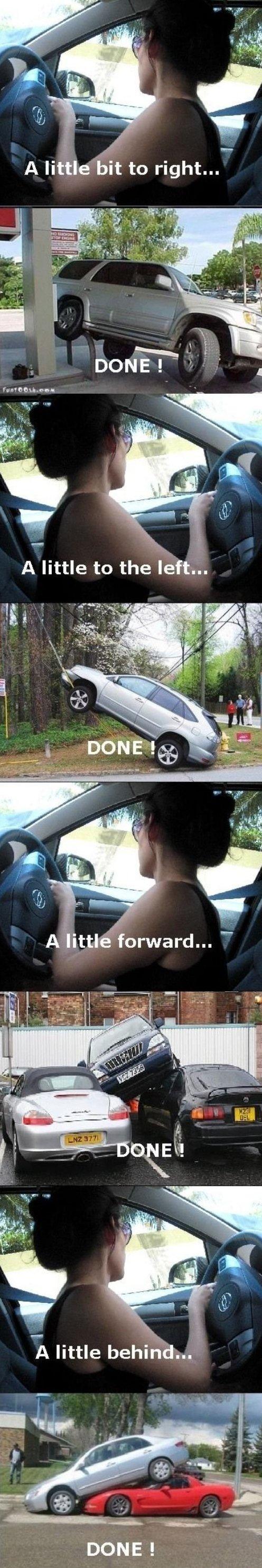 Women Parking