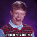 Bad Luck Brian on Titanic