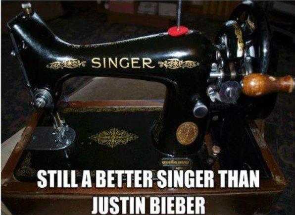 Better singer than Justin Bieber
