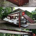 Coffee shop in a box