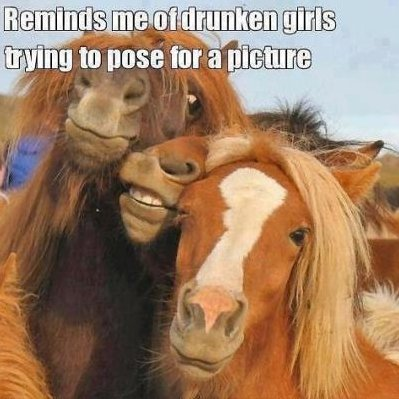 Drunken girls