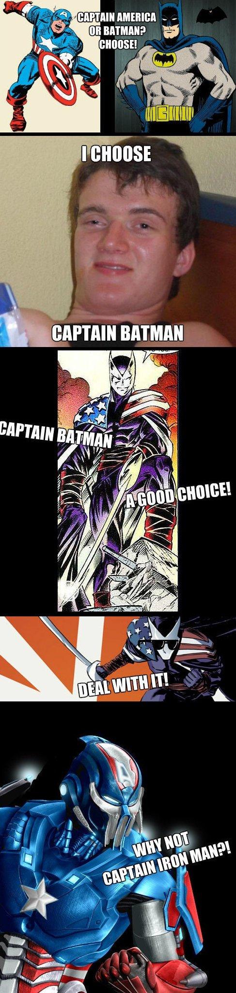 I Choose Captain Batman