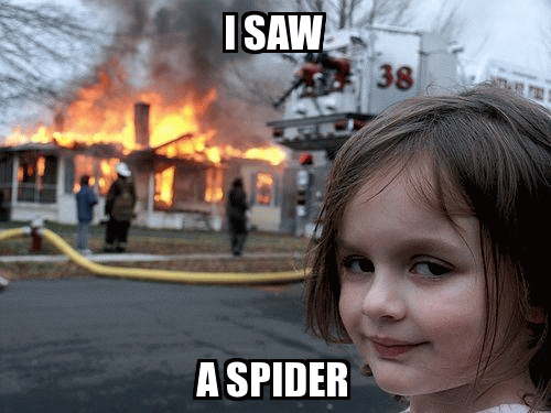 I saw something