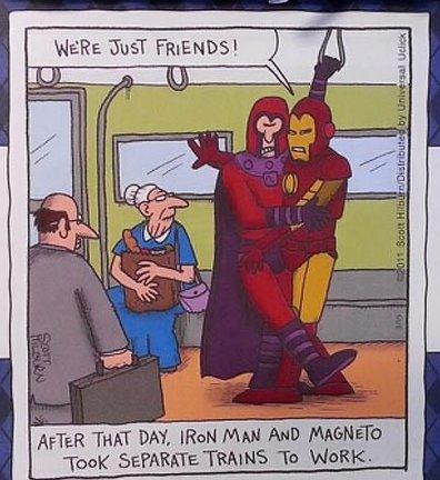 Iron Man vs. Magneto