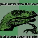 Philosoraptor on Magicians