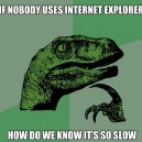 Philosoratpor And Internet Explorer
