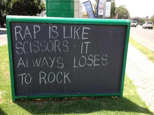 Rap vs. Rock