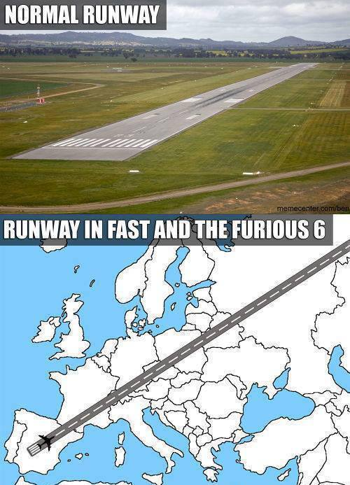 Runway in Fast and Furious 6