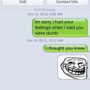 SMS Trolling