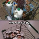 Shopping When Hungry