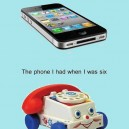 The phone I had