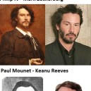 Time traveling celebrities