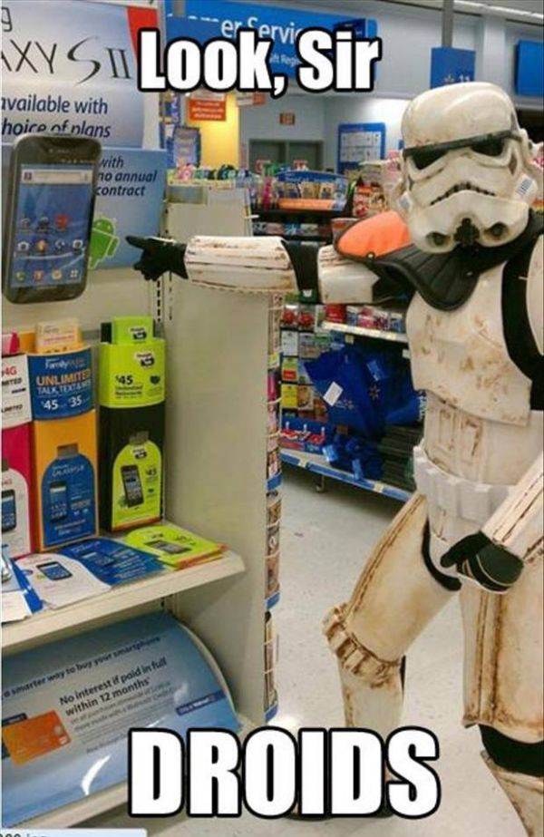 Are these the droids you're looking for
