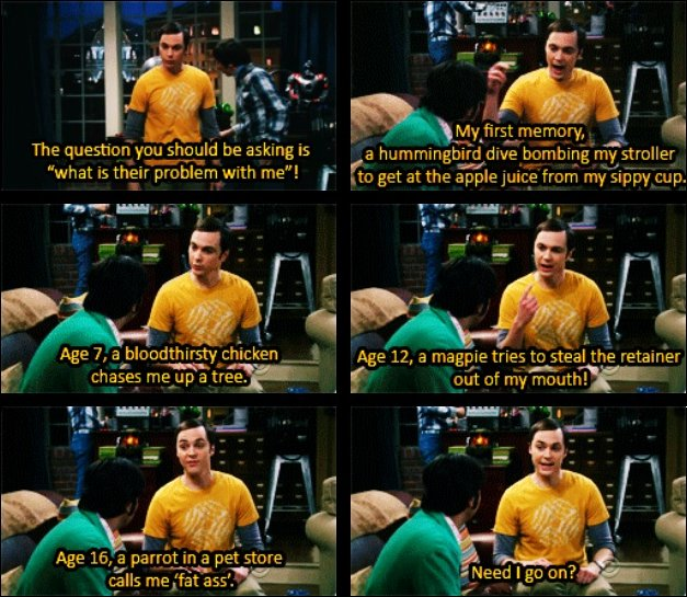 Big Bang Theory Sheldon Quote