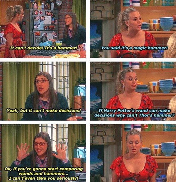 Big bang theory again