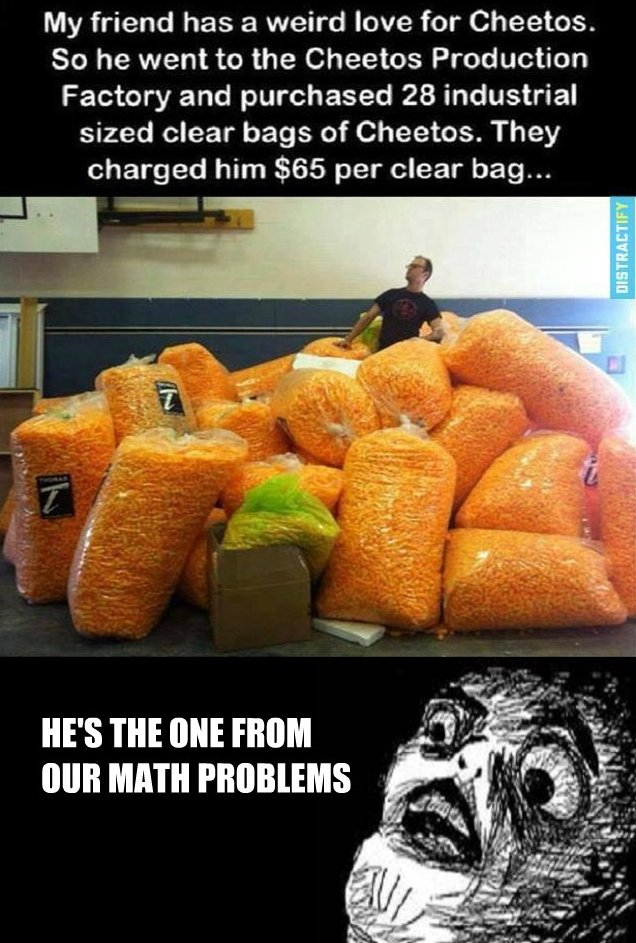 Cheetos Man