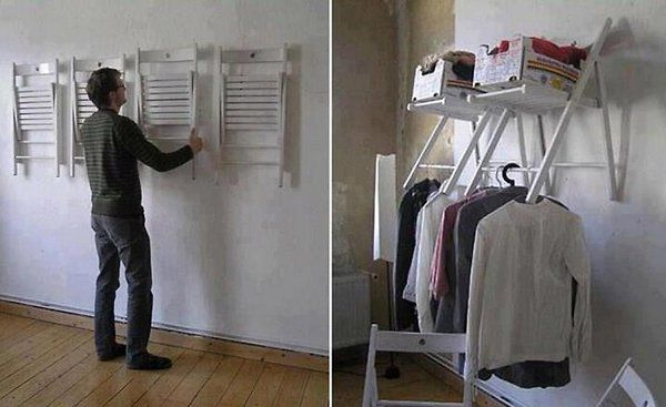 Clever Idea for Unused Chairs
