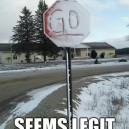 Confusing Stop Sign