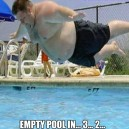 Empty Pool In 3… 2…