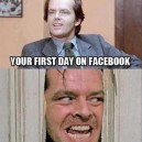 First Day On Facebook