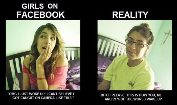 Girls on FaceBook