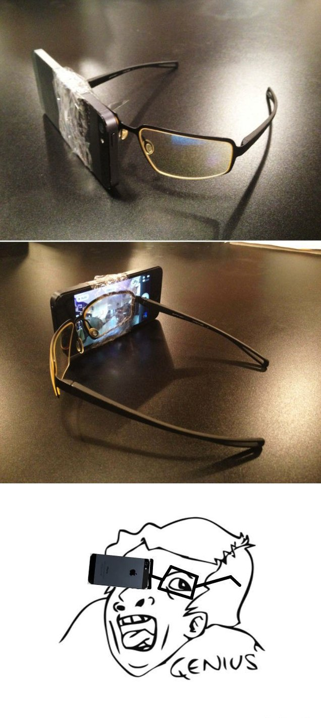 Google Smart Glass Replica Fail