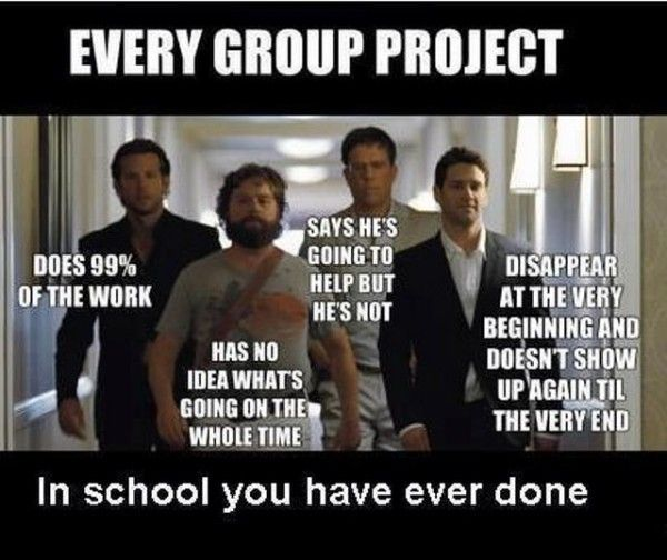Group Projects, Hangover