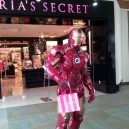 Iron Man Shopping In The Mall