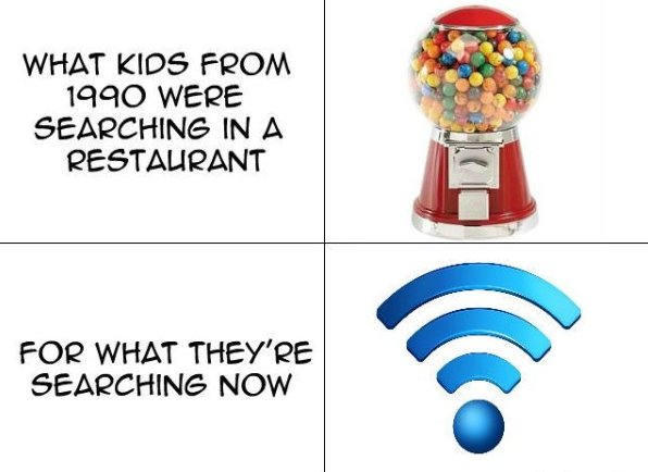 Kids these days…