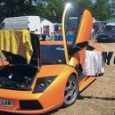 Lamborghini Clothes Hanger