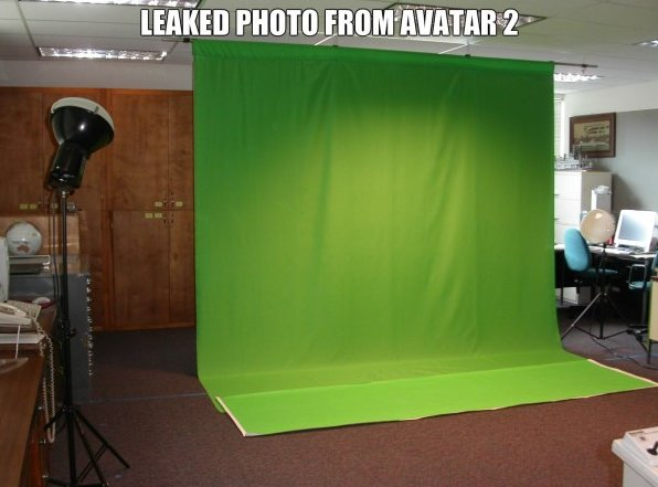 Leaked Image of The Avatar 2 Set