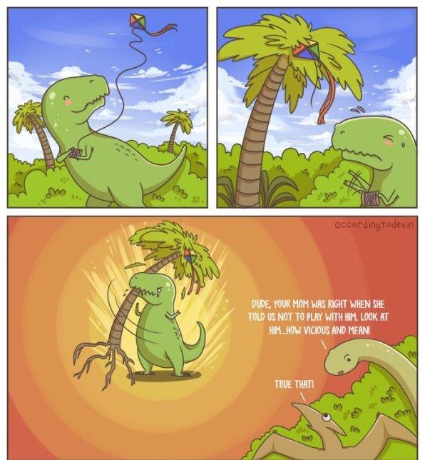 Misunderstood T Rex