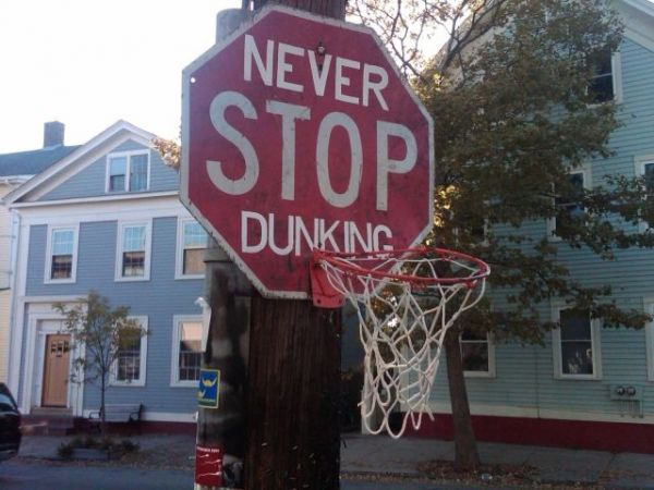 Never Stop Dunking!