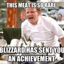Rare Meat Achievement