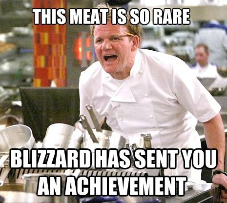 Rare Meat Achievement